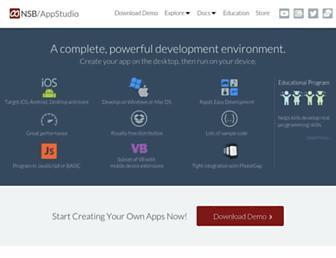 nsbasic.com screenshot