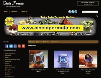 cincinpermata.com screenshot