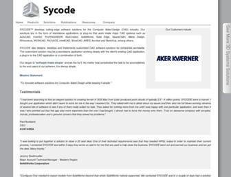 sycode.com screenshot