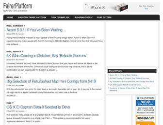 Thumbshot of Fairerplatform.com