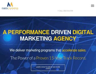 matrixmarketinggroup.com screenshot