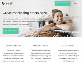 about.easil.com screenshot