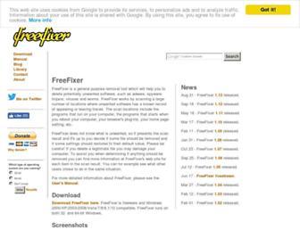 freefixer.com screenshot