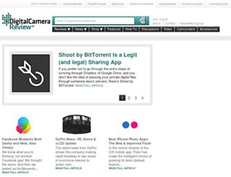 digitalcamerareview.com screenshot