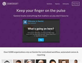 countersoft.com screenshot