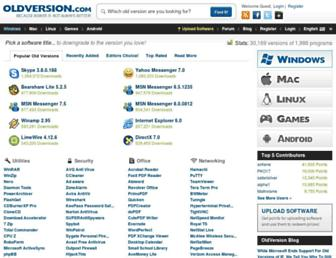 oldversion.com screenshot