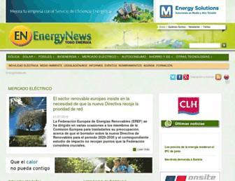 energynews.es screenshot