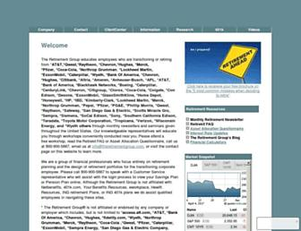 theretirementgroup.com screenshot