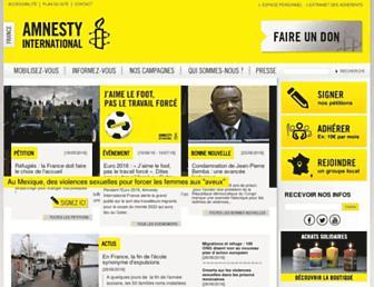 Thumbshot of Amnesty.fr