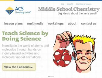 Thumbshot of Middleschoolchemistry.com