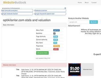optikilanlar.com.websiteoutlook.com screenshot