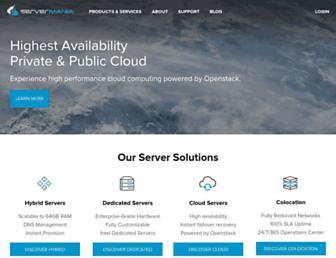 servermania.com screenshot