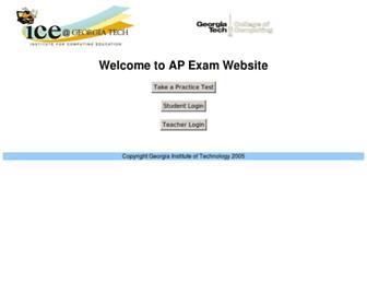 ice-web.cc.gatech.edu screenshot