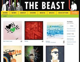 music.thebeastmusic.com screenshot