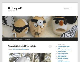 Main page screenshot of doitmyself.org