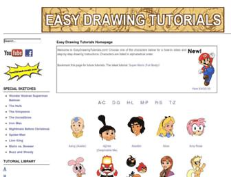 easydrawingtutorials.com screenshot