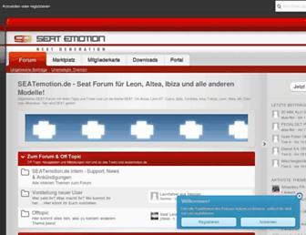 Thumbshot of Seat-forum.de