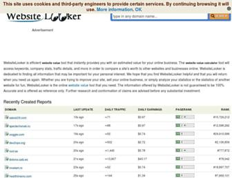 websitelooker.com screenshot