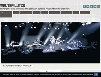 walterlutzu.it screenshot