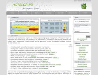 hoteldruid.com screenshot