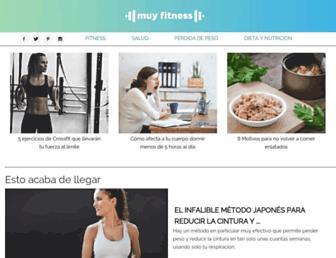 muyfitness.com screenshot