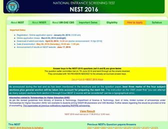 Thumbshot of Nestexam.in