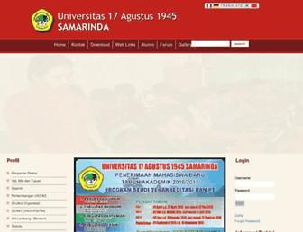 untag-smd.ac.id screenshot