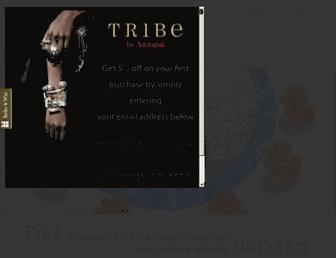 tribebyamrapali.com screenshot