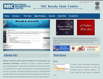 Thumbshot of Kerala.nic.in
