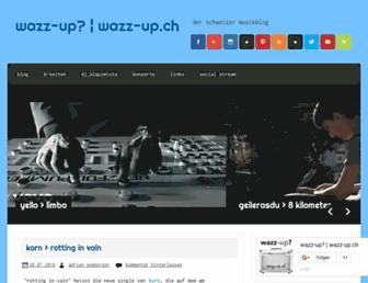Main page screenshot of elfen.ch