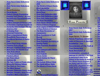 parvinprophecy.com screenshot