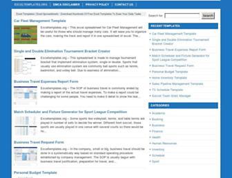 exceltemplates.org screenshot