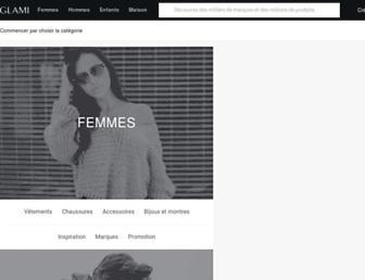 glami.fr screenshot