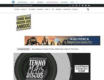 tenhomaisdiscosqueamigos.com screenshot