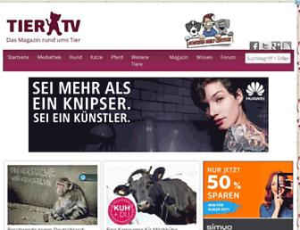 Main page screenshot of tier.tv