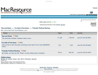Thumbshot of Macresource.com