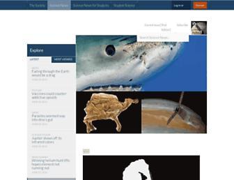 Thumbshot of Sciencenews.org