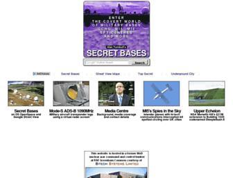 secret-bases.co.uk screenshot