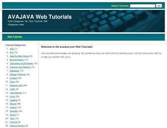 avajava.com screenshot