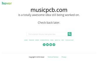musicpcb.com screenshot
