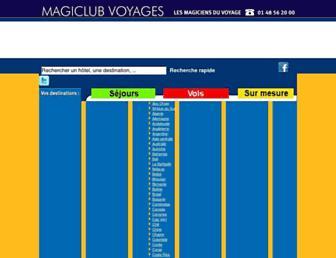 magiclub.com screenshot