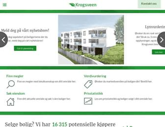 Thumbshot of Krogsveen.no