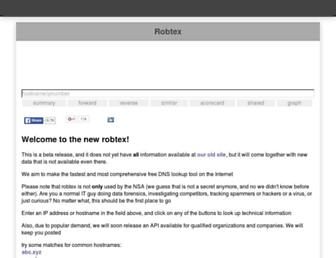 pop.robtex.com screenshot