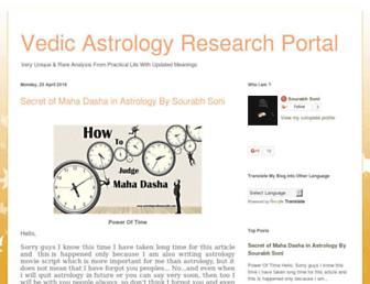 astrologywithsourabh.blogspot.com screenshot