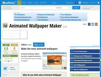 animated-wallpaper-maker.en.softonic.com screenshot