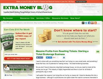 Thumbshot of Extramoneyblog.com
