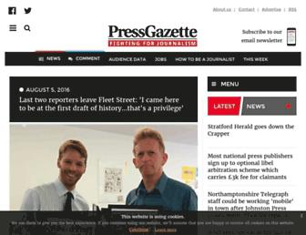 pressgazette.co.uk screenshot