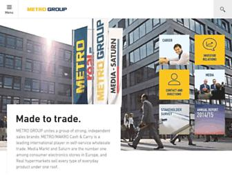 Thumbshot of Metro-group.com