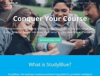 studyblue.com screenshot