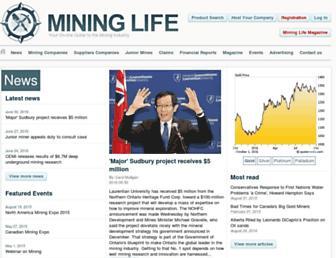 mininglifeonline.net screenshot